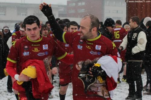 Paray Rugby 9 à 0 Plateau 25