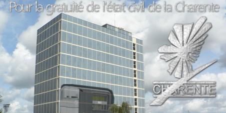 Gratuité état civil en Charente