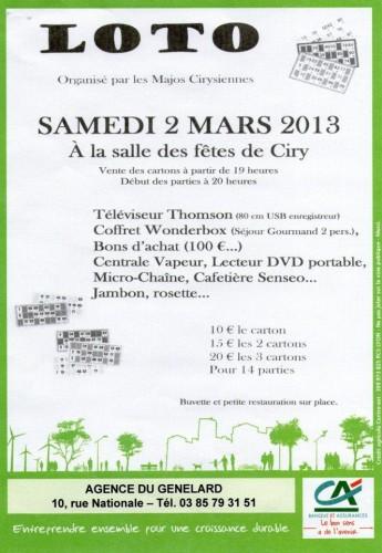Ciry Loto des Majorettes