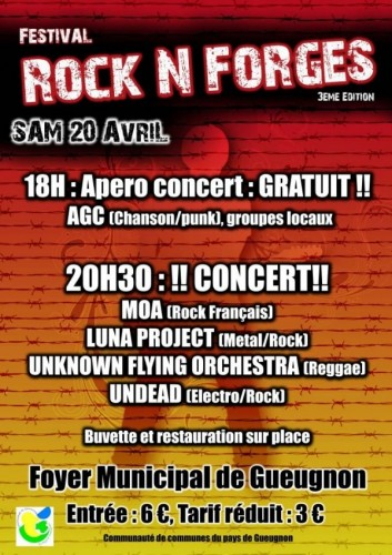 Gueugnon Festival Rock' N Forges