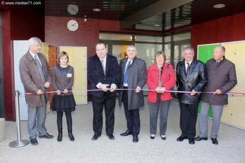 Inauguration de la nouvelle SEGPA de Charolles