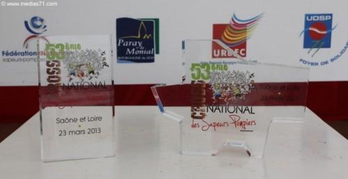 Les Trophées sont bien arrivés sur le podium des gagnants