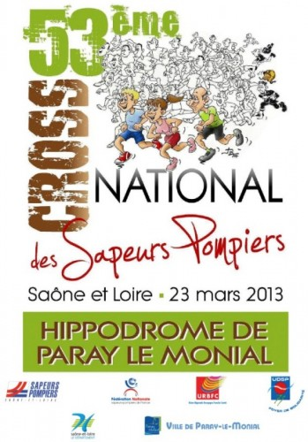 Paray : Cross National 2013 des Sapeurs Pompiers