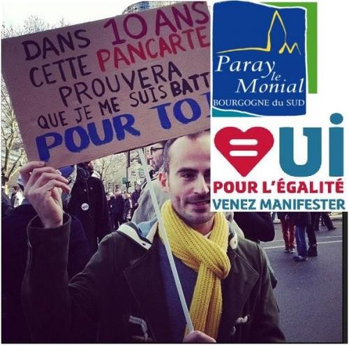 La contre manif de la manif à Paris du 24 mars 2013