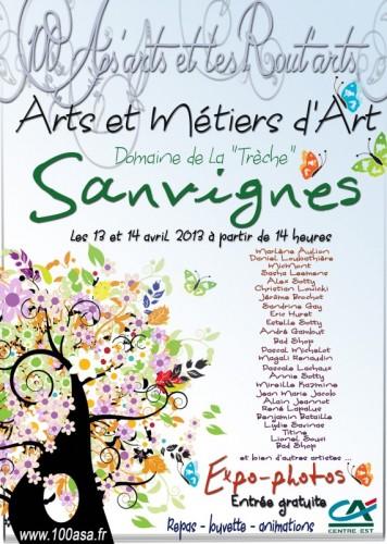 Club 100 ASA de Sanvignes présente des Arts et Métiers d'Art