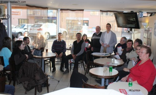Café-Débat du PS à Paray