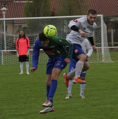 Paray 1-0 Saint-Marcel