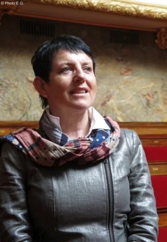 Edith Gueugneau au Mali