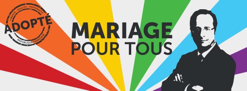 la loi pour le mariage pour tous est vot e. Black Bedroom Furniture Sets. Home Design Ideas