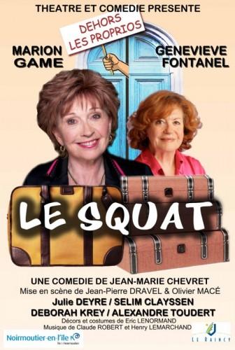 Théâtre Paray : Le Squat