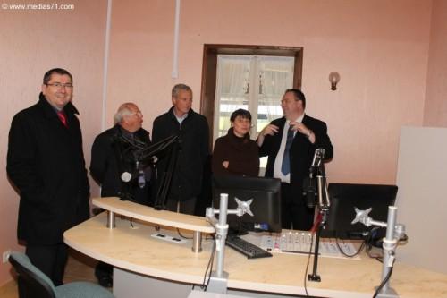 Visite éclair à Radio Cactus