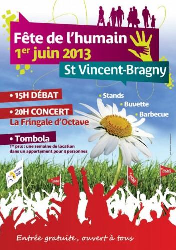 Fête de l'Humain à Saint-Vincent-Bragny