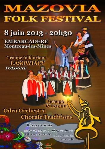Folk Festival Polognais MAZOVIA