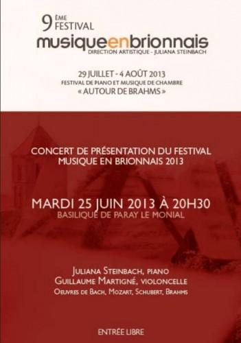 Festival Musique en Brionnais 2013