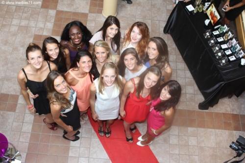 Présentation des 13 candidates pour Miss Bourgogne