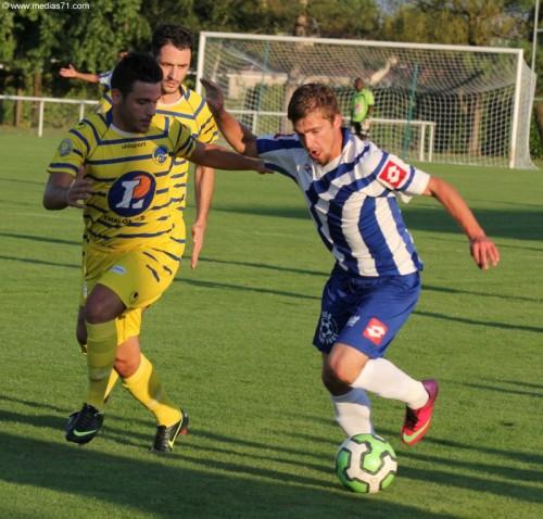 DH Auxerre 0 à 1 Paray