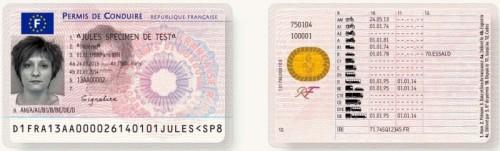 Nouveau permis de conduire sécurisé
