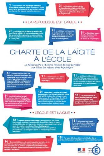 Charte de la Laïcité à l'Ecole