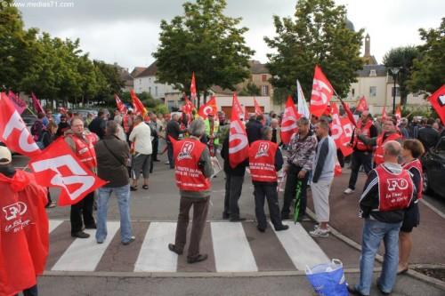 Interdiction de manifester en Saône-et-Loire