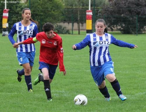 Foot Féminin Paray 18-1 Fontaine