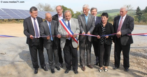 Chalmoux Inauguration Parc Solaire