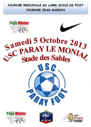 Journée Régionale Label Ecole de Foot