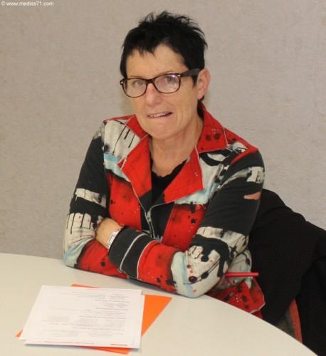 Édith Gueugneau à l'Assemblée Nationale