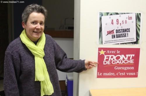 Isabelle Voillot dévoile sa liste