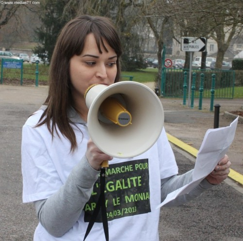 Interview de Stéphanie Gateau militante PS