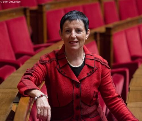 Édith Gueugneau s'abstient