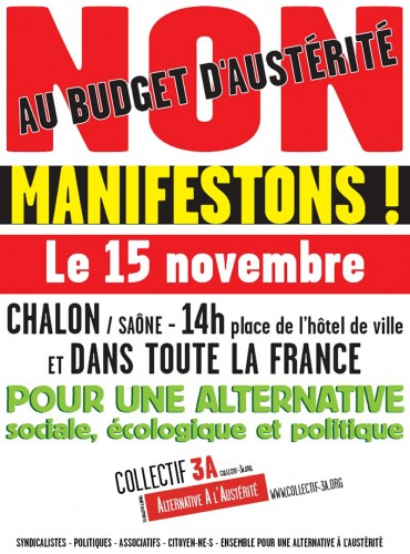 Manifestation du 15 Novembre 2014