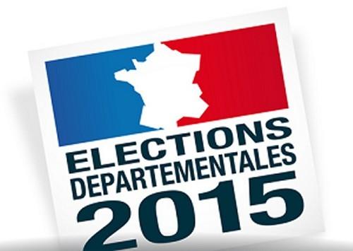 Résultats des départementales 2015 en 71