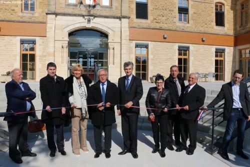 Inauguration de l'EHPAD de Semur