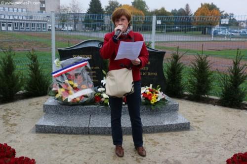 PCF : Inauguration 2 stèles du Caper