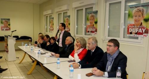 Régionales 2015 : Réunion publique PS à Chalon