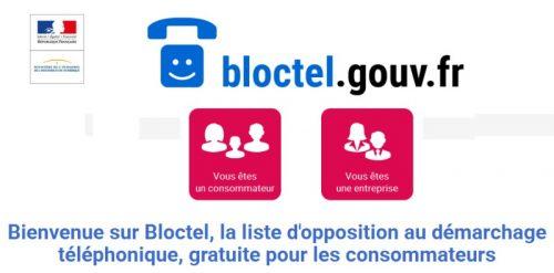 Bloctel Liste d'Opposition Téléphonique