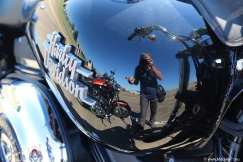 Belles Harley-Davidson à Saint-Yan