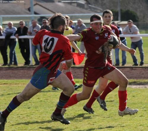 Paray-Rugby 60 à 18 Saône-Seille