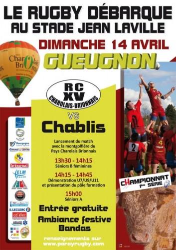 Rugby Club Parodien à Gueugnon