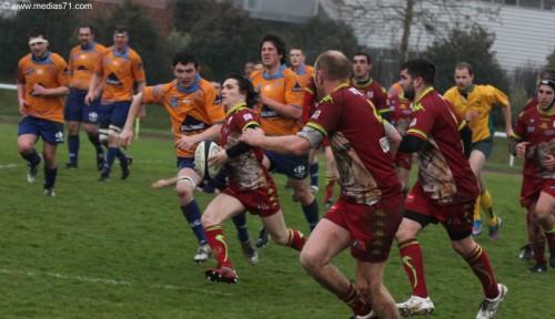 Rugby Paray 31 à 9 Saint-Léger