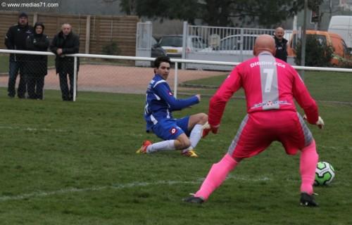 Paray-Foot 2 à 0 Digoin FCA