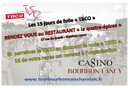 Parrainez le Tour du Bourbonnais Charolais