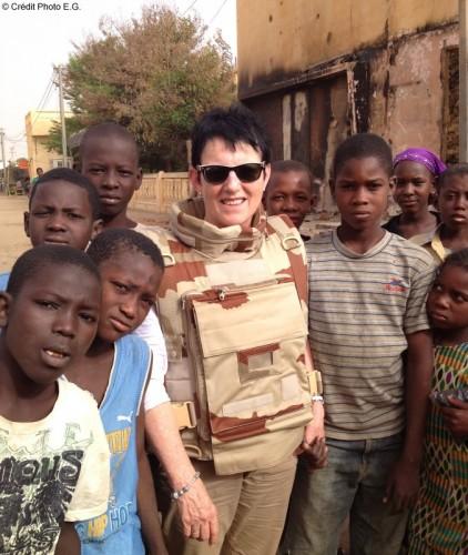 Édith Gueugneau de retour du Mali