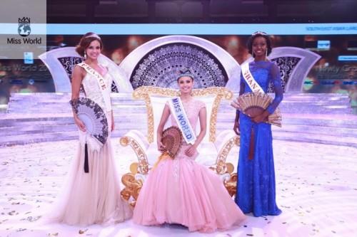 Marine Lorphelin dauphine de Miss Monde