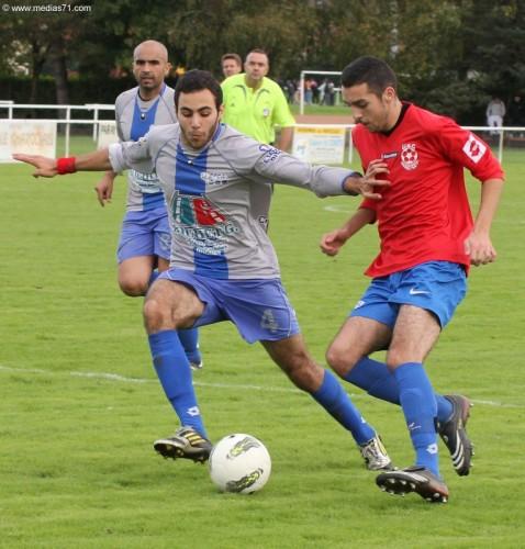 Football : Paray 1-0 Digoin