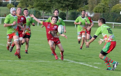 Rugby : Paray 29-12 Buxy
