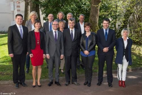 12 Nouveaux Vice-présidents du CD 71