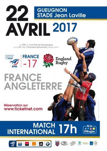 Rugby : France Angleterre des – 17 Ans