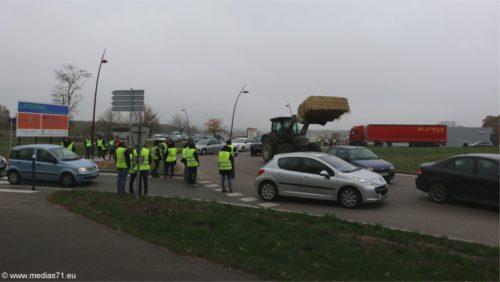 17 Novembre 2018 : Bloquages Gilets Jaunes